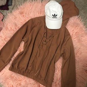 Sweaters - Cognac Hoodie